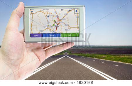 Tela do GPS