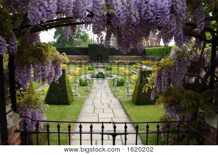 Garden At Hampton Court