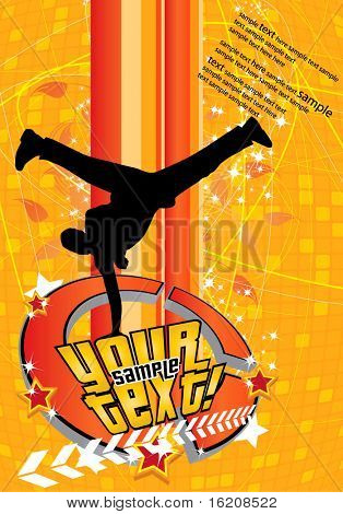 Break-dance poster
