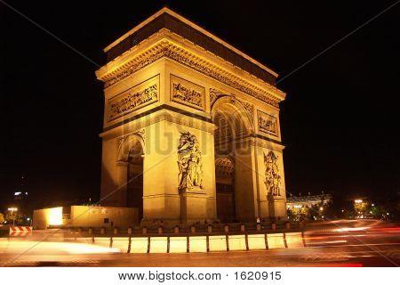 Triumph Arch By Night