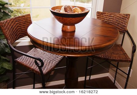 Snack Bar with stools