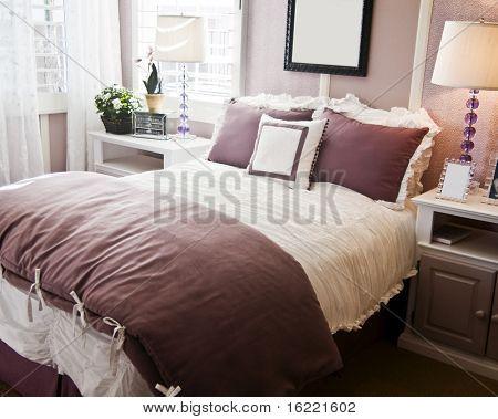 Beautiful showcase bedroom interior