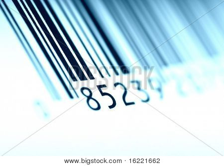 Machine-readable Bar Code for the AIDC system