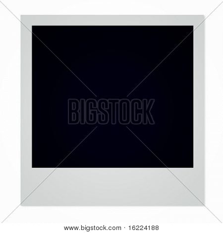 Single, Horizontal Photo Frame, classic instant picture