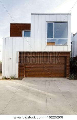 Modern stylish home exterior