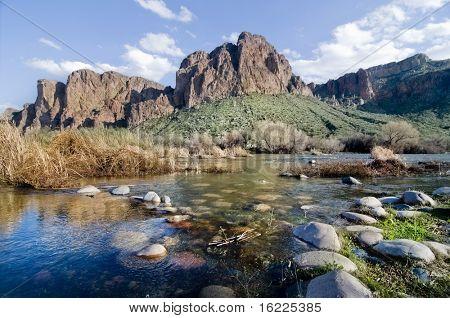 Picturesque Arizona Southwest landscape