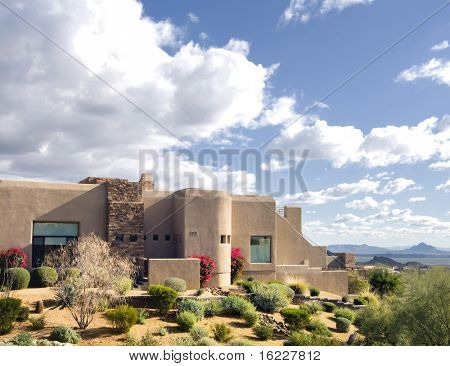 Beautiful Arizona home on the side of a mountain
