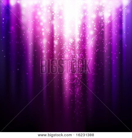 abstract glowing lilac background. Vector illustration