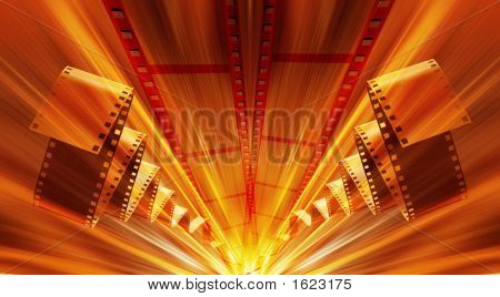 Film Strip Abstract