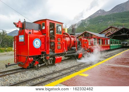 Southern Fuegian Railway Station