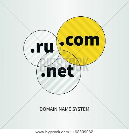 Domain Name Services Web Logo And Icon