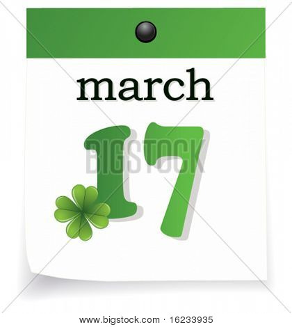 St patrick calendar