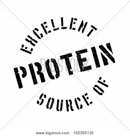 Excellent source of protein stamp. Grunge design with dust scratches. Effects can be easily removed for a clean, crisp look. Color is easily changed.