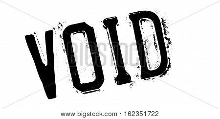 Void rubber stamp. Grunge design with dust scratches. Effects can be easily removed for a clean, crisp look. Color is easily changed.