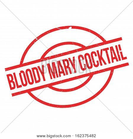 Bloody Mary Cocktail rubber stamp. Grunge design with dust scratches. Effects can be easily removed for a clean, crisp look. Color is easily changed.