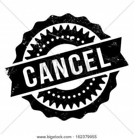 Cancel stamp. Grunge design with dust scratches. Effects can be easily removed for a clean, crisp look. Color is easily changed.