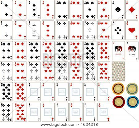 Playing Cards & Chesspieces