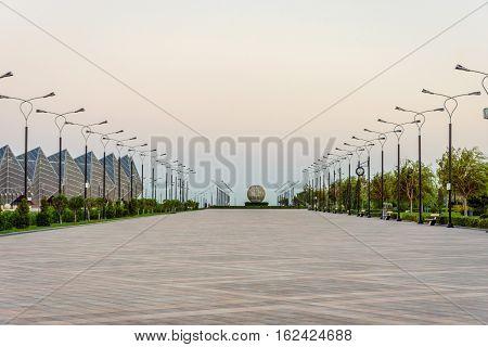 Promenade In Baku, Azerbaijan
