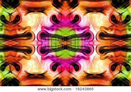 fondo con un un patrón de color humo