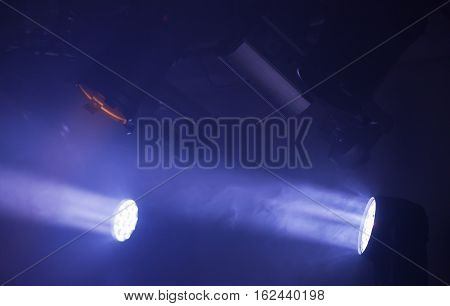 Colorful Spot Lights With Strong Beams