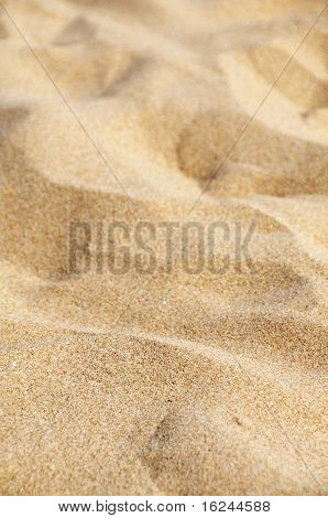 background made of a close-up of the sand