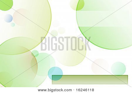 circles and rectangles of different colors drawn on a white background