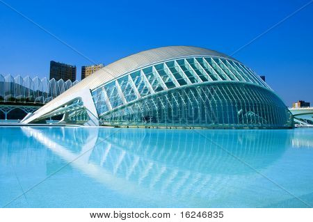 VALENCIA, SPAIN - MARCH 17: The City of Arts and Sciences of Valencia on March 17, 2010 in Valencia, Spain.