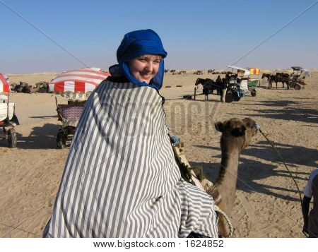 The Girl On A Camel