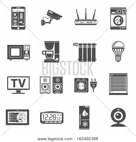 Smart House Internet Things Icons Vector Photo Bigstock