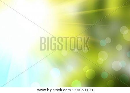abstrakte Bokeh-Hintergrund