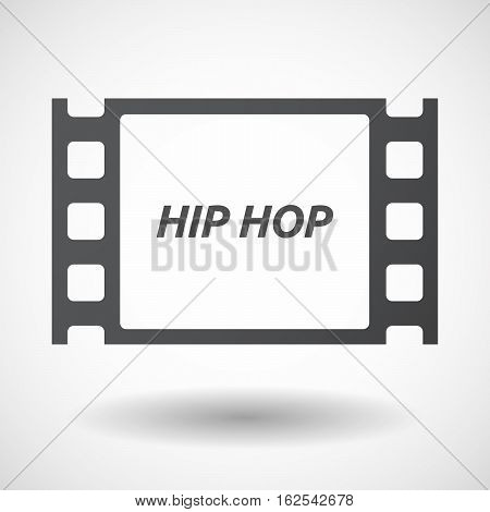 Isolated Frame With    The Text Hip Hop