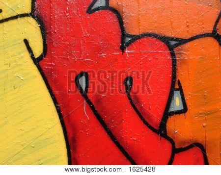 Graffiti Painting Detail