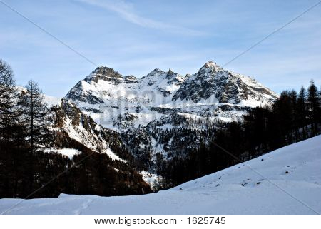 Champoluc Mountains