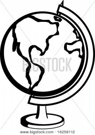 desktop earth globe
