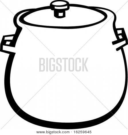 round bottom stockpot