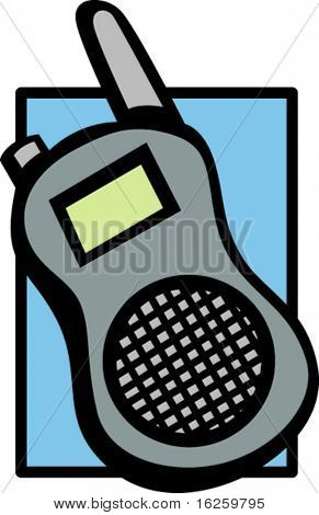 mobile walkie-talkie two-way radio