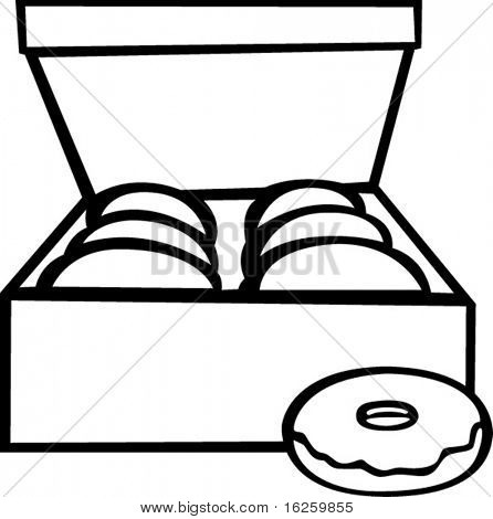 donut box