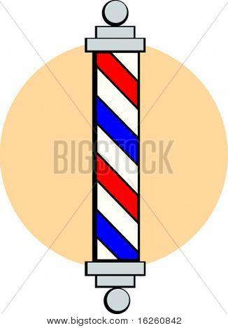 barber shop pole sign
