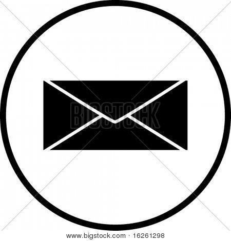 símbolo de correo