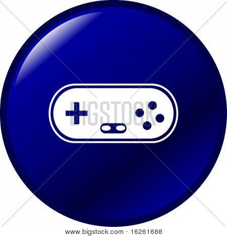 joypad videogame controller button