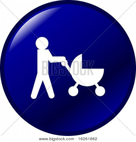 baby stroller button