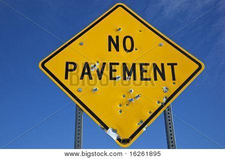 No Pavement