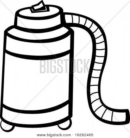 heavy duty vacuum appliance