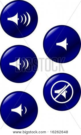 sound volume controls buttons