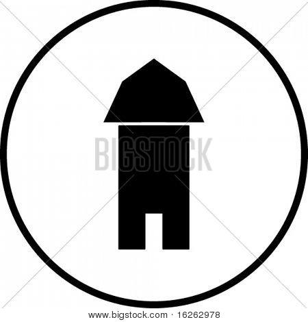 símbolo de granero