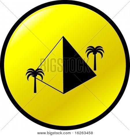 pyramid button