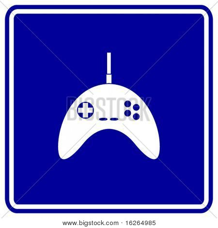 videogame joypad sign