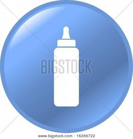 baby bottle button