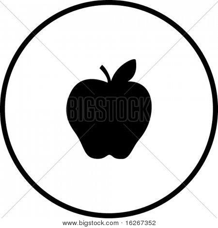 símbolo de Apple