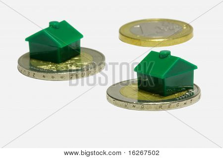 Green Houses On Euro